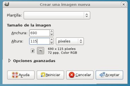 crear imagen gimp