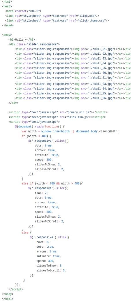 Plantilla html 2